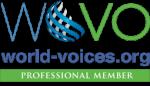 Diana Holguin True Bilingual Voiceovers Wovo Logo